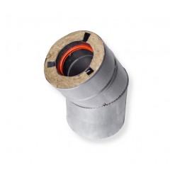 Отвод для газового котла 45