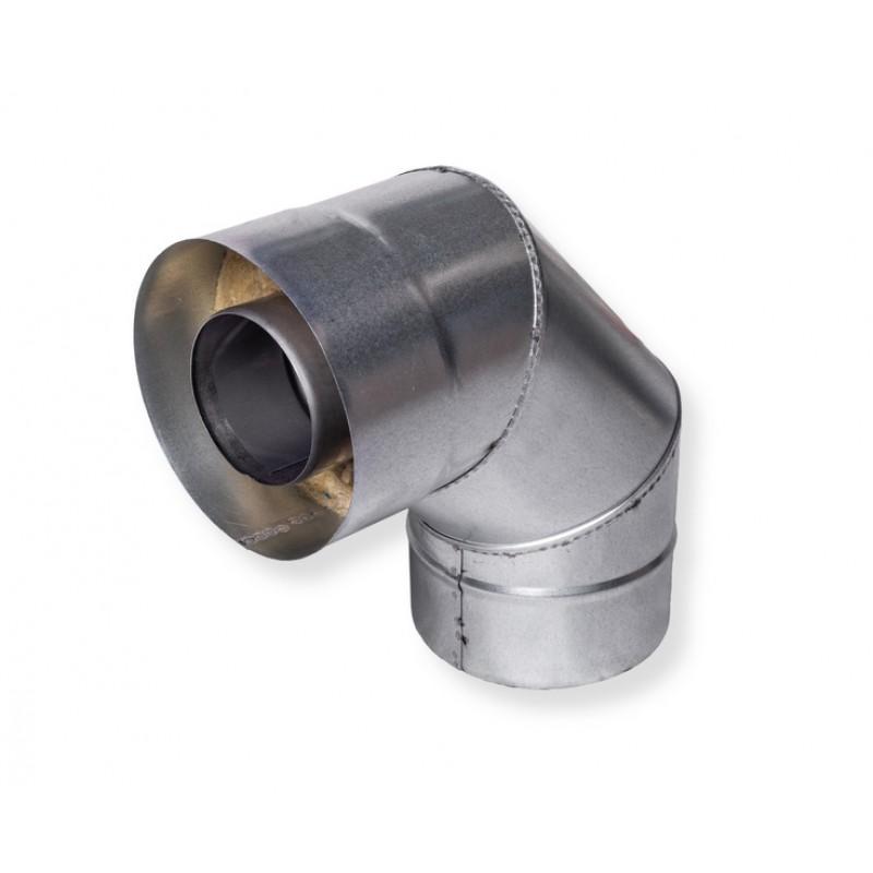 Отвод для газового котла 90