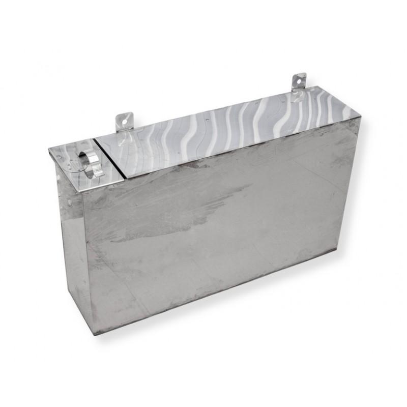 Бак для бани (накопительный, прямоугольный) 60 литров