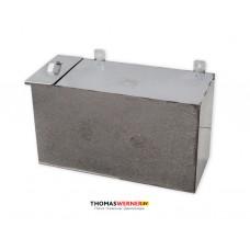Бак для бани (накопительный, прямоугольный) 110 литров