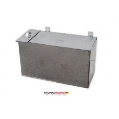 Бак для бани (накопительный, прямоугольный) 80 литров