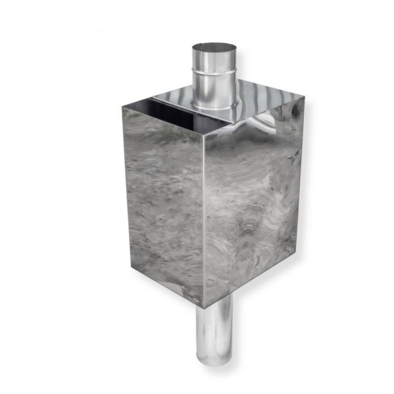Бак для бани (прямоугольный) Ø 130 55 литров