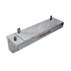 Бак для бани (накопительный, треугольный, горизонтальный) 50 литров сталь 0.8 мм