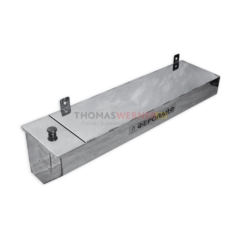 Бак для бани (накопительный, треугольный) 50литров сталь 0.8 мм