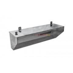 Бак для бани (накопительный, треугольный, горизонтальный) 70 литров сталь 0.8 мм
