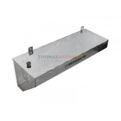 Бак для бани (накопительный, треугольный, горизонтальный) 90 литров сталь 0.8 мм