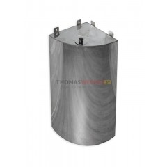 Бак для бани (накопительный, треугольный, угловой) 125 литров сталь 0.8 мм