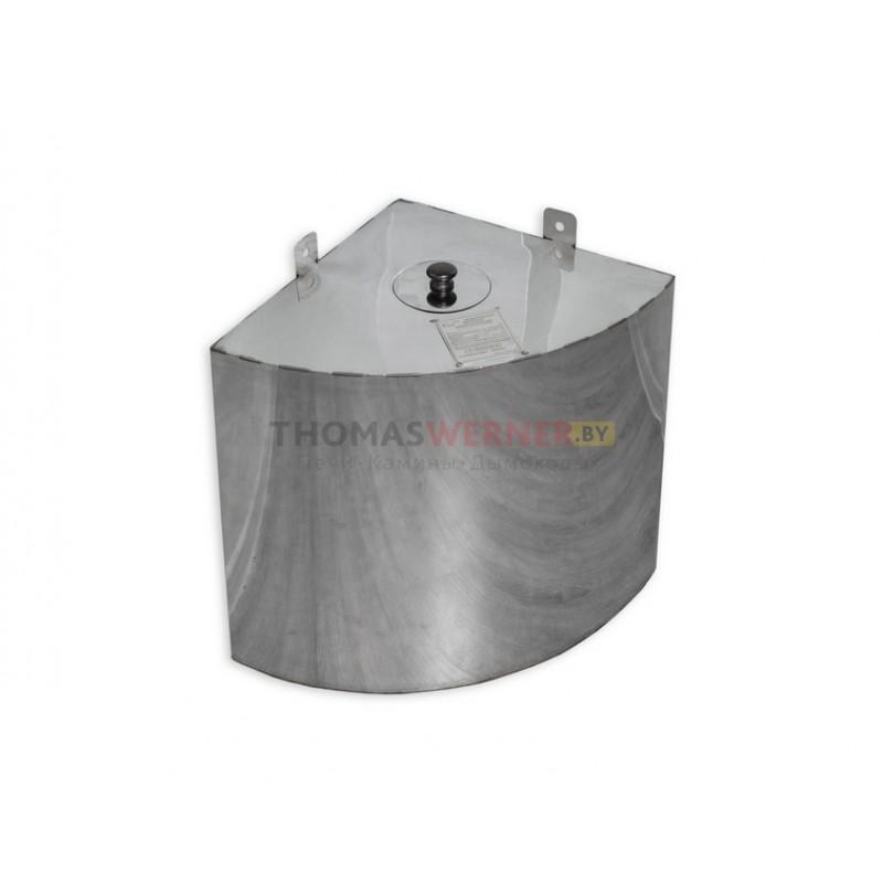 Бак для бани (накопительный, треугольный, угловой) 70 литров сталь 0.8 мм