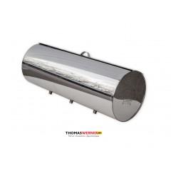 Бак для бани (накопительный, круглый) 125 литров сталь 0.8 мм