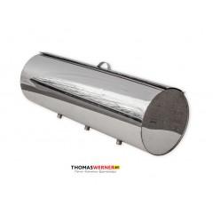 Бак для бани (накопительный, круглый) 71 литр сталь 0.5 мм