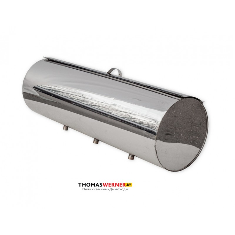 Бак для бани (накопительный, круглый) 71 литр сталь 0.8 мм