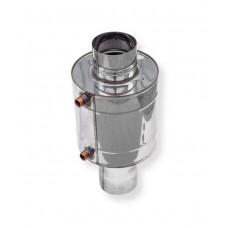 Теплообменник для печи 6 литров труба Ø 115