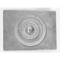 Плита для печки 1-конфорочная П1-5 705мм*530мм под казан