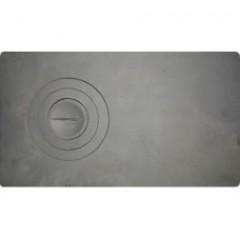 Плита для печки 1-конфорочная П1-2 710мм*410мм