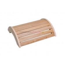 Подголовник-подставка для ног для бани