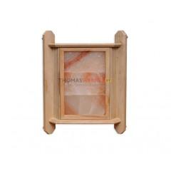 Светильник для бани с гималайской солью 3 плитки