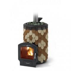 Печь-каменка для бани Термофор Альфа Панголина Лайт Inox 3К шамот терракота