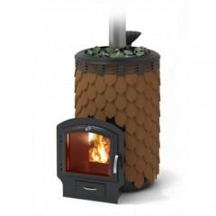 Печь-каменка для бани Термофор Альфа Панголина Лайт Inox 3К терракота