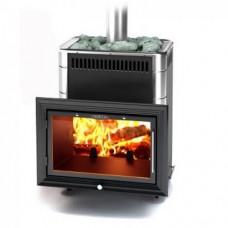 Печь-каменка для бани Термофор Витрувия Carbon БСЭ антрацид НВ